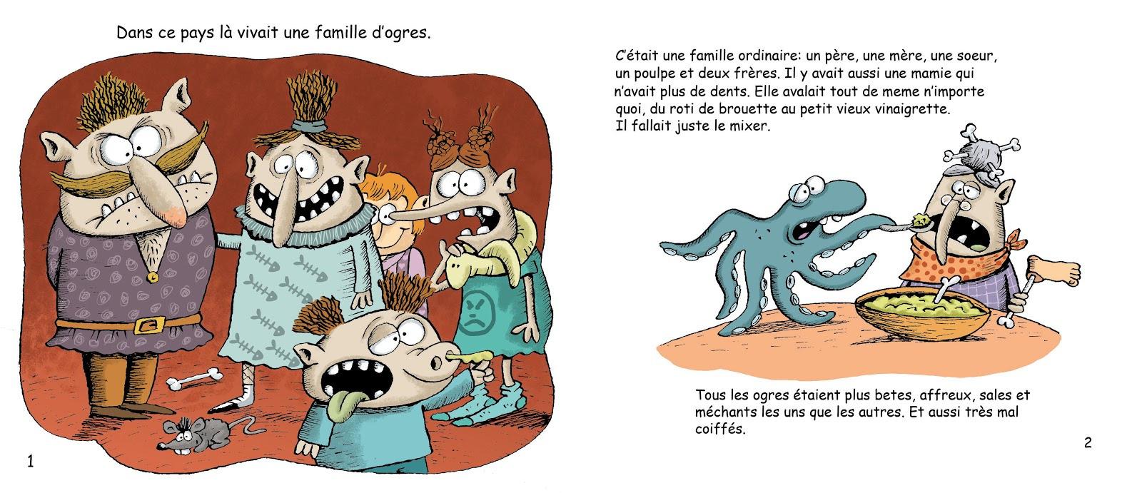Le Petit Ogre Qui Voulait Apprendre À Lire - Blog-O-Noisettes tout Le Petit Ogre Qui Voulait Apprendre À Lire