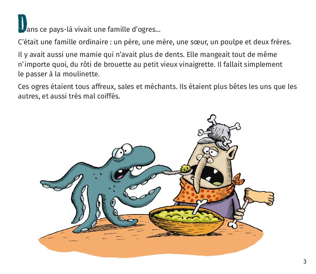 Le Petit Ogre Qui Voulait Apprendre À Lire – Lire C'est Partir intérieur Le Petit Ogre Qui Voulait Apprendre À Lire
