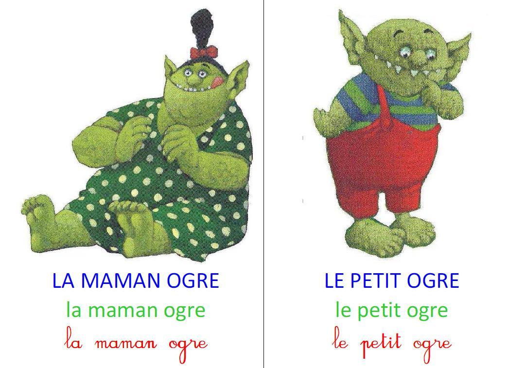 Le Petit Ogre Veut Aller À L'école – Le Partage, C'est encequiconcerne Le Petit Ogre Qui Voulait Apprendre À Lire