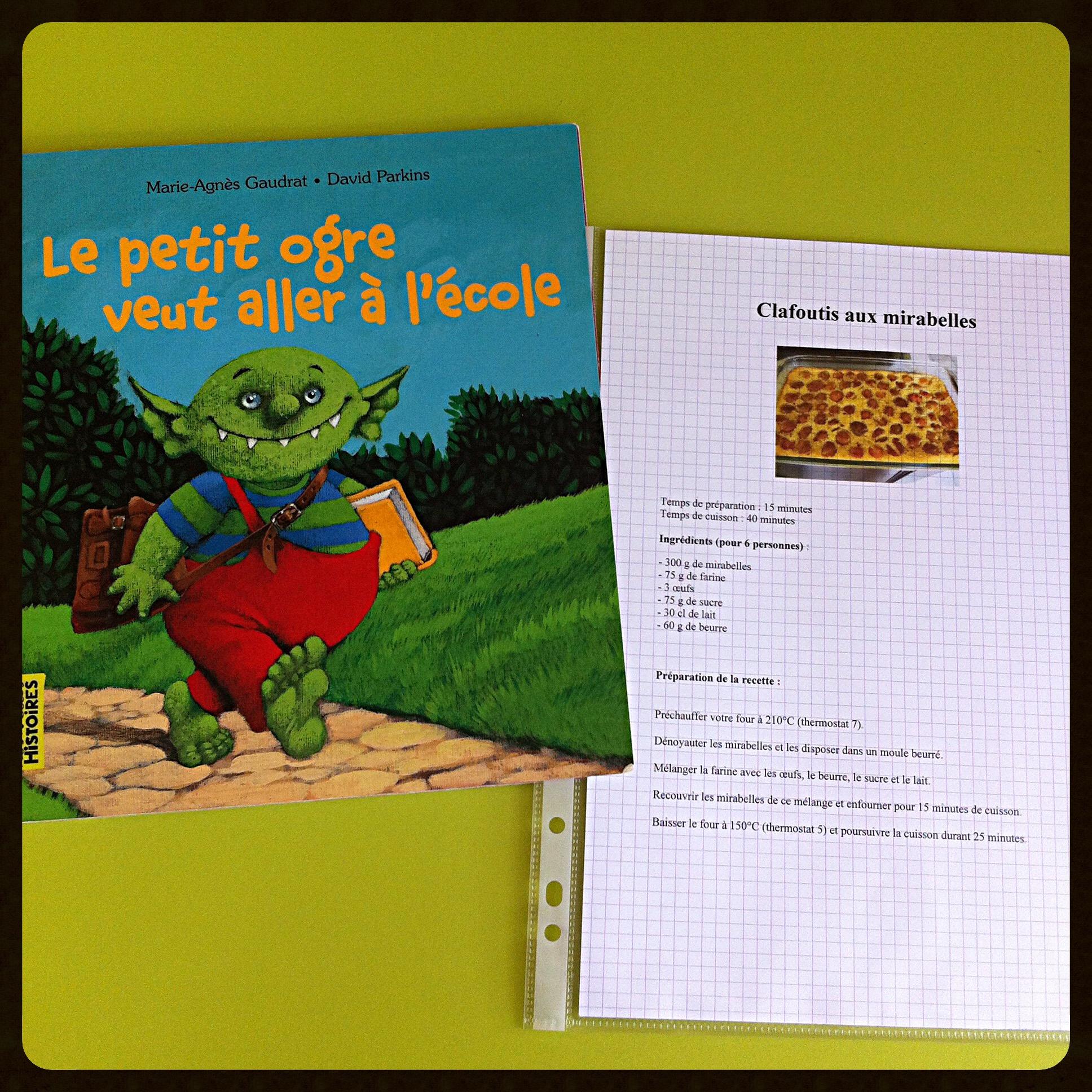 Le Pouvoir Des Livres - Cam & Drey Bricolent dedans Le Petit Ogre Qui Voulait Apprendre À Lire