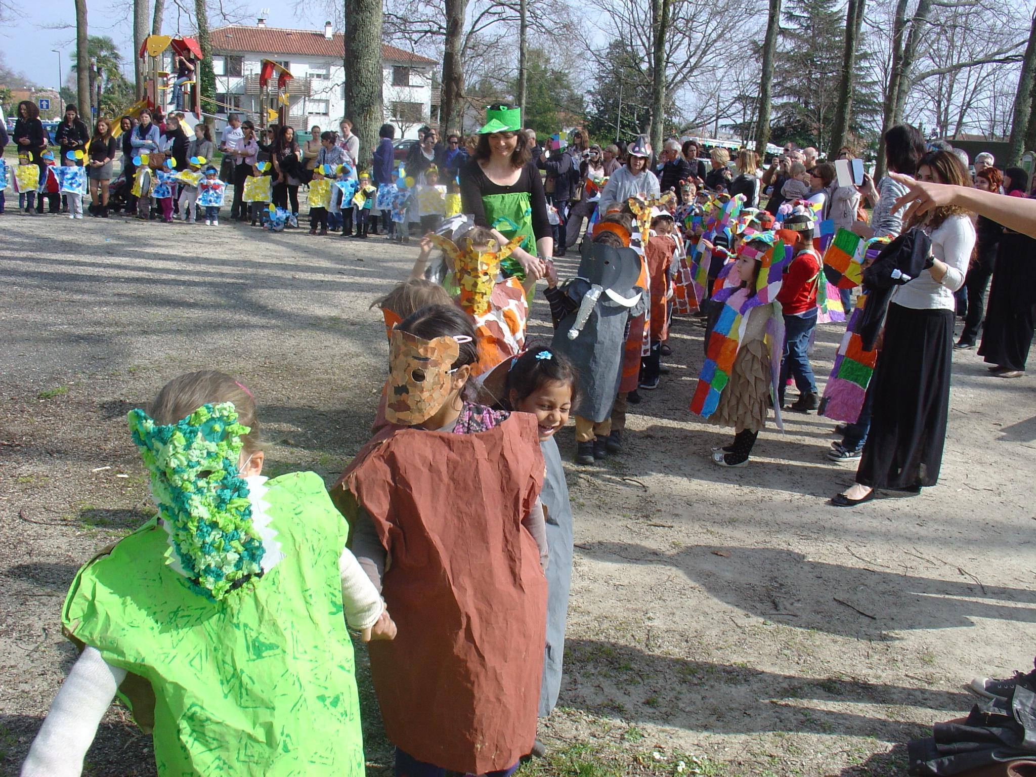 Le Printemps Fait Son Carnaval | Ecole Maternelle De L concernant Album Printemps Gs