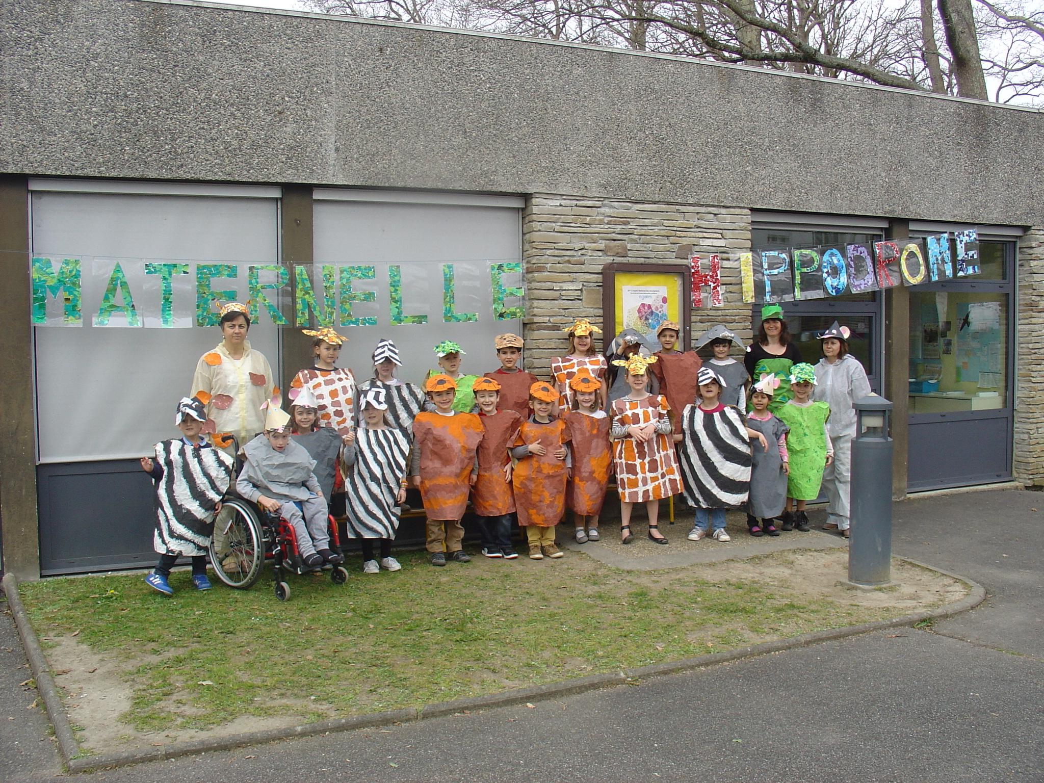Le Printemps Fait Son Carnaval | Ecole Maternelle De L tout Album Printemps Gs