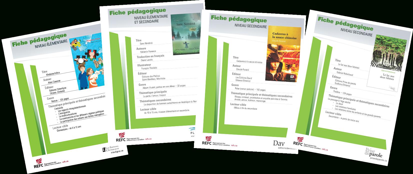 Le Refc Lance Une Collection De Fiches Pédagogiques tout Fiche Pédagogique Les 5 Sens