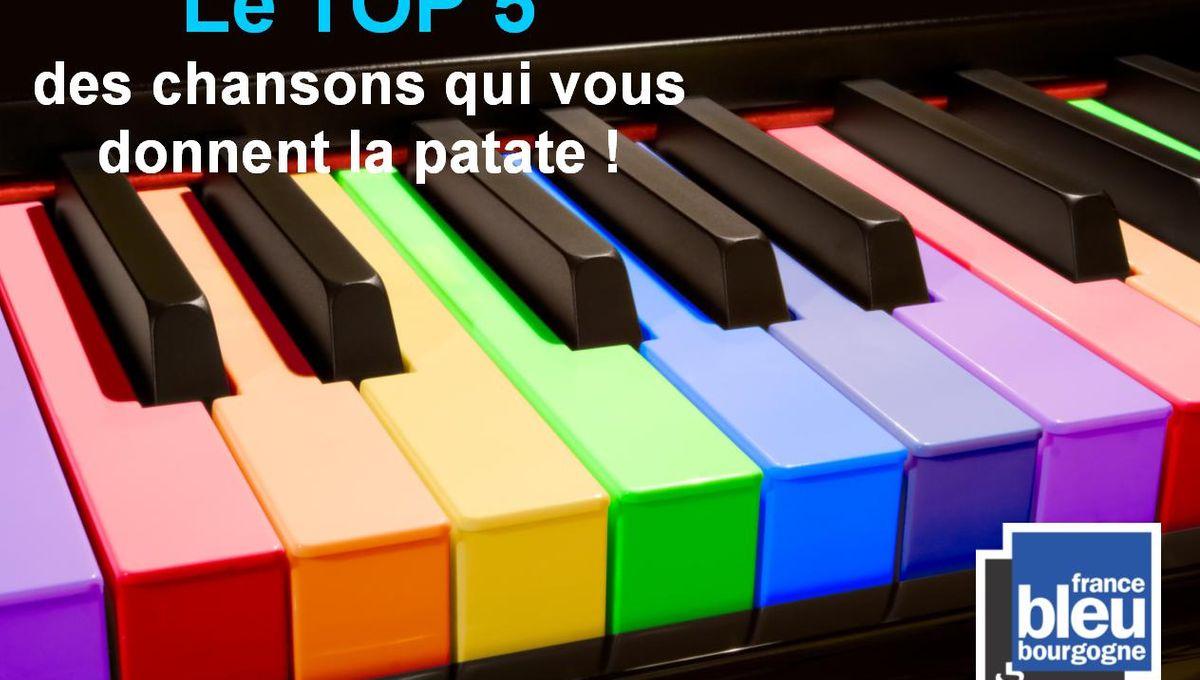 Le Top 5 Des Chansons Qui Donnent La Patate ! tout Chanson De La Patate
