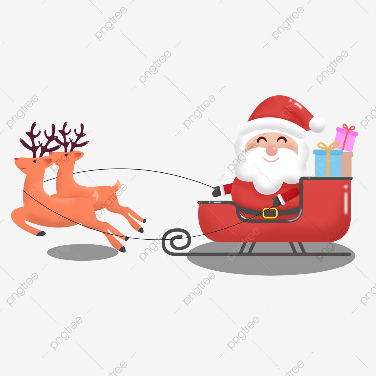Le Traîneau Du Père Noël, Le Traîneau Du Père Noël, Arbre De intérieur Image De Traineau Du Pere Noel
