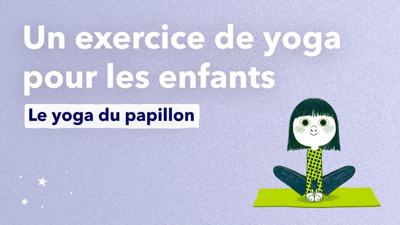 Le Yoga Du Papillon, Un Exercice De Yoga Pour Les Enfants concernant La Grenouille Meditation