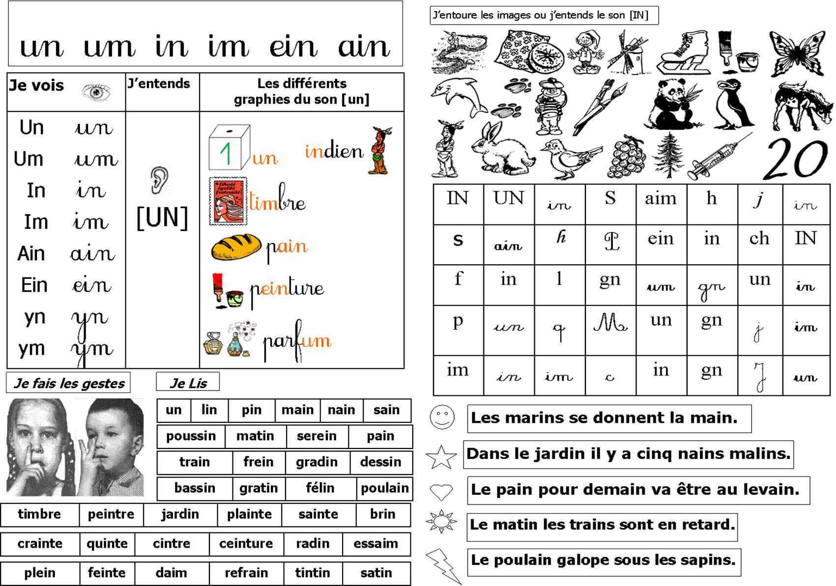 Lecture/phonologie | Le Blog De Monsieur Mathieu encequiconcerne Le Son F Cp