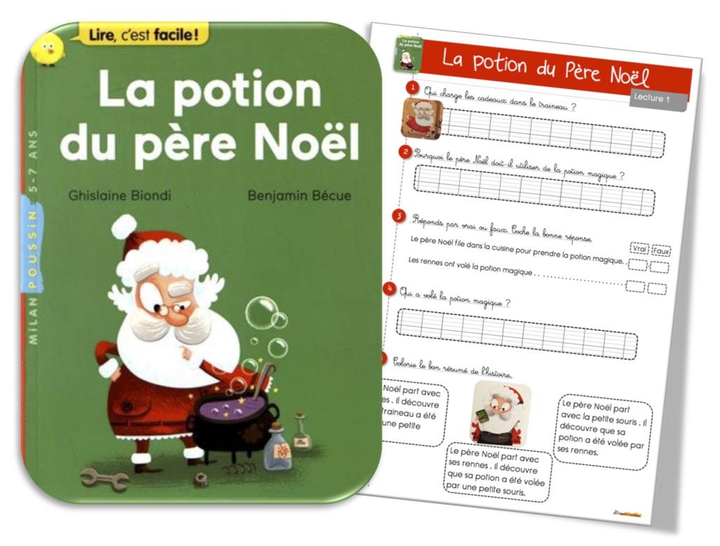 Lecture Suivie : La Potion Du Père Noël | Bout De Gomme dedans Reponse Lettre Du Pere Noel A Imprimer