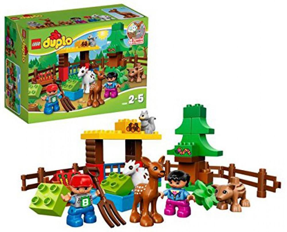 Lego Duplo 10582 Les Animaux De La Forêt dedans Image D Animaux De La Foret