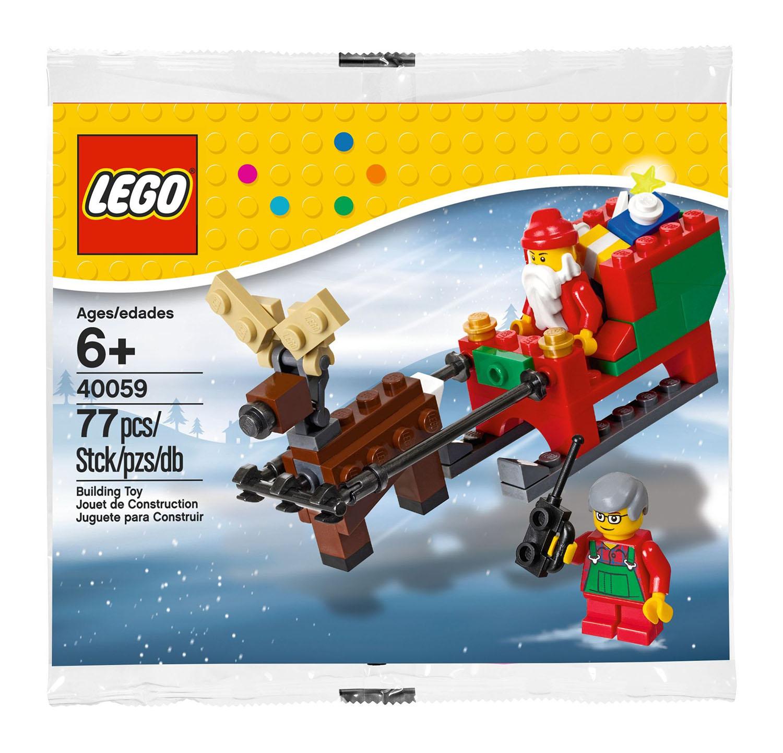 Lego Saisonnier 40059 Pas Cher, Le Traîneau Du Père Noël intérieur Image De Traineau Du Pere Noel