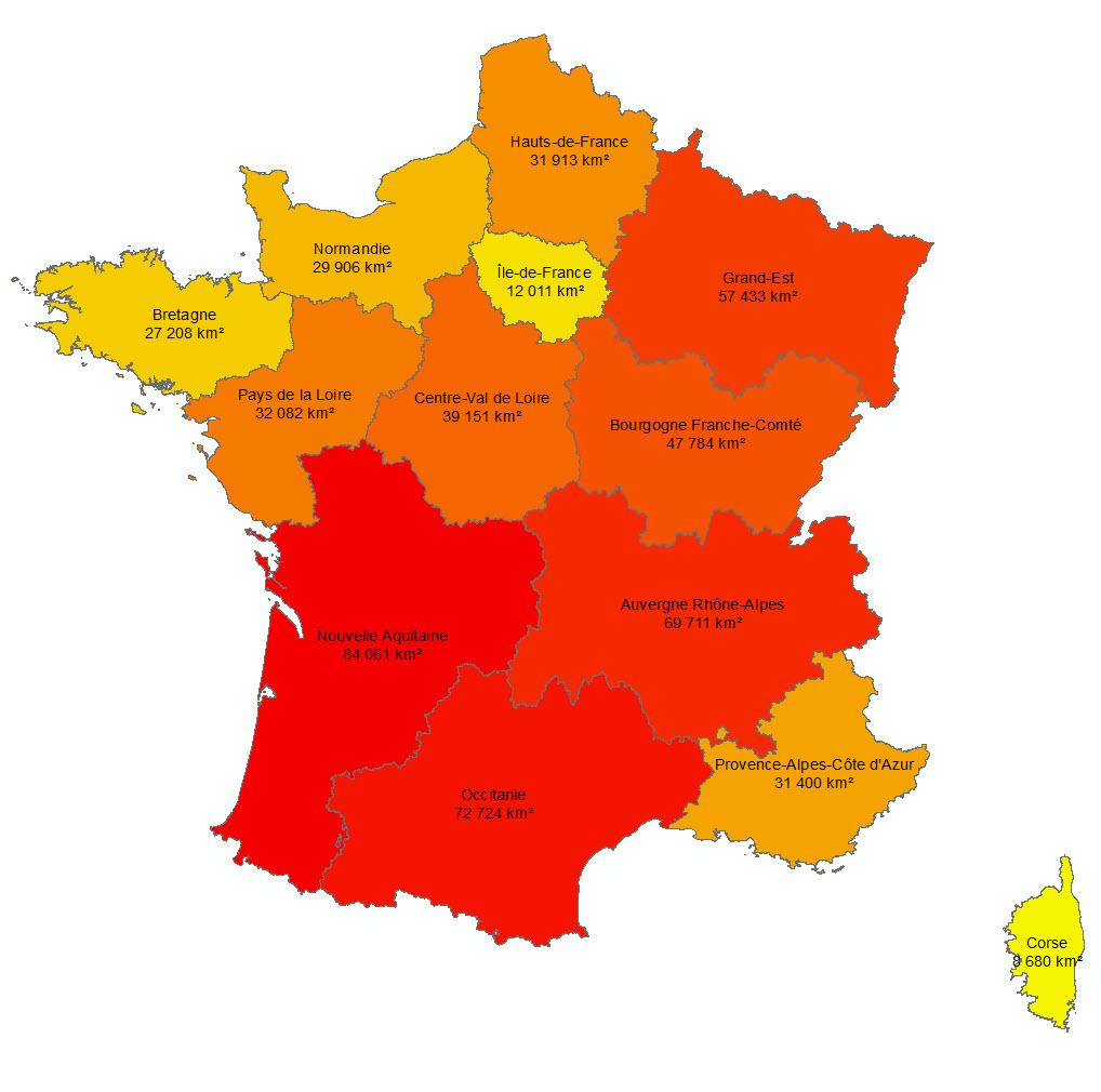 Les 13 Nouvelles Régions Françaises - Paloo Blog intérieur Nouvelle Carte Des Régions De France