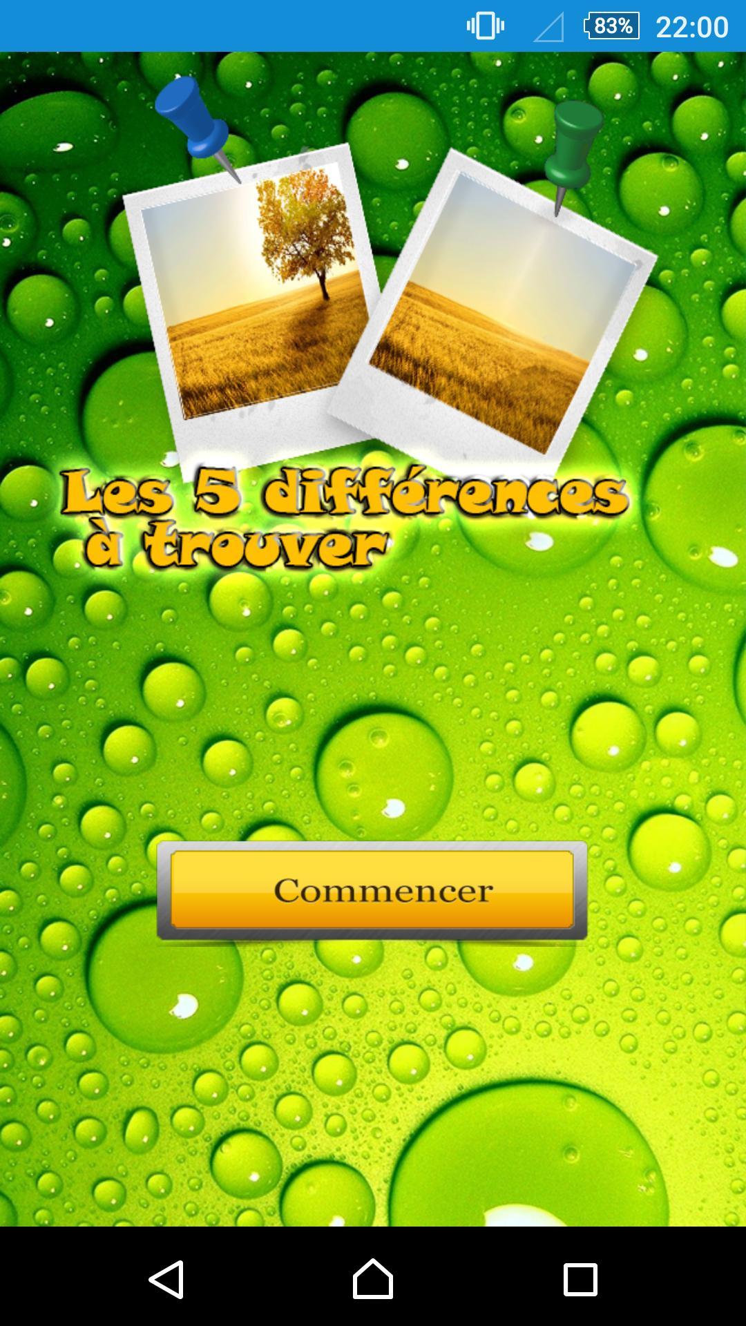 Les 5 Différences À Trouver For Android - Apk Download intérieur Les 5 Differences