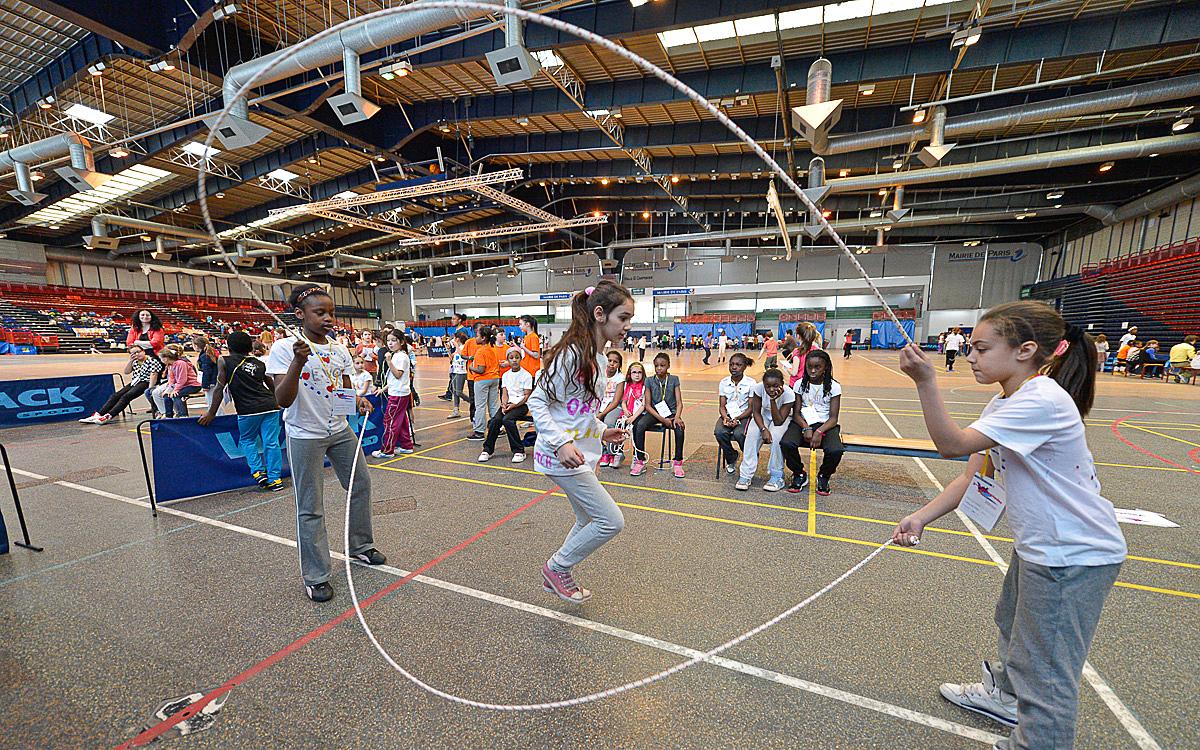 Les Activités Sportives Encadrées Toute L'année - Ville De Paris à Jeux Sportifs 6 12 Ans