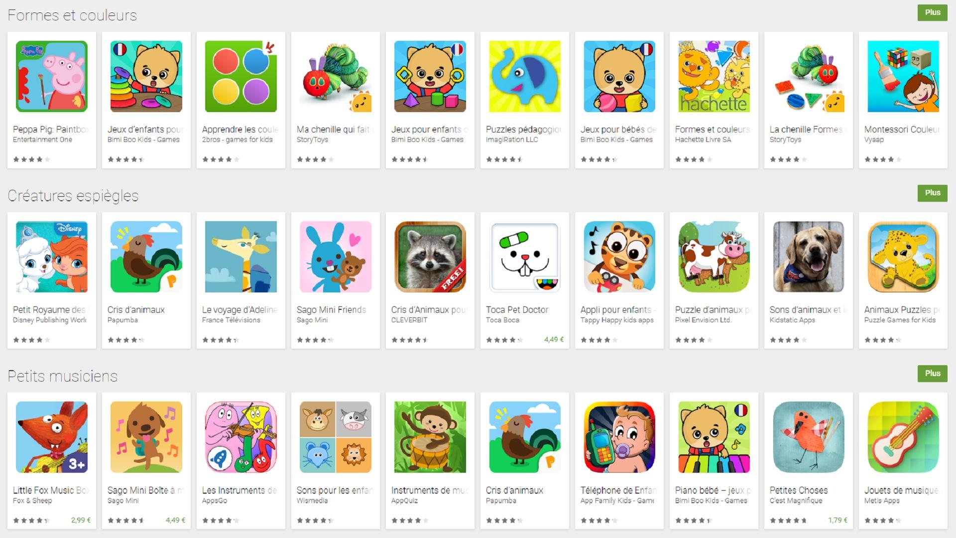 Les Applications Éducatives Pour Enfants Sont Bourrées De dedans Apprendre Les Animaux Pour Bebe