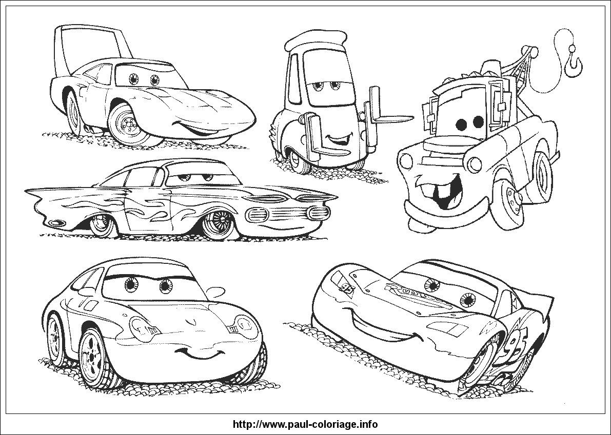 Les Bagnoles (Cars) #60 (Films D'animation) – Coloriages À intérieur Dessin A Imprimer Gratuit Cars