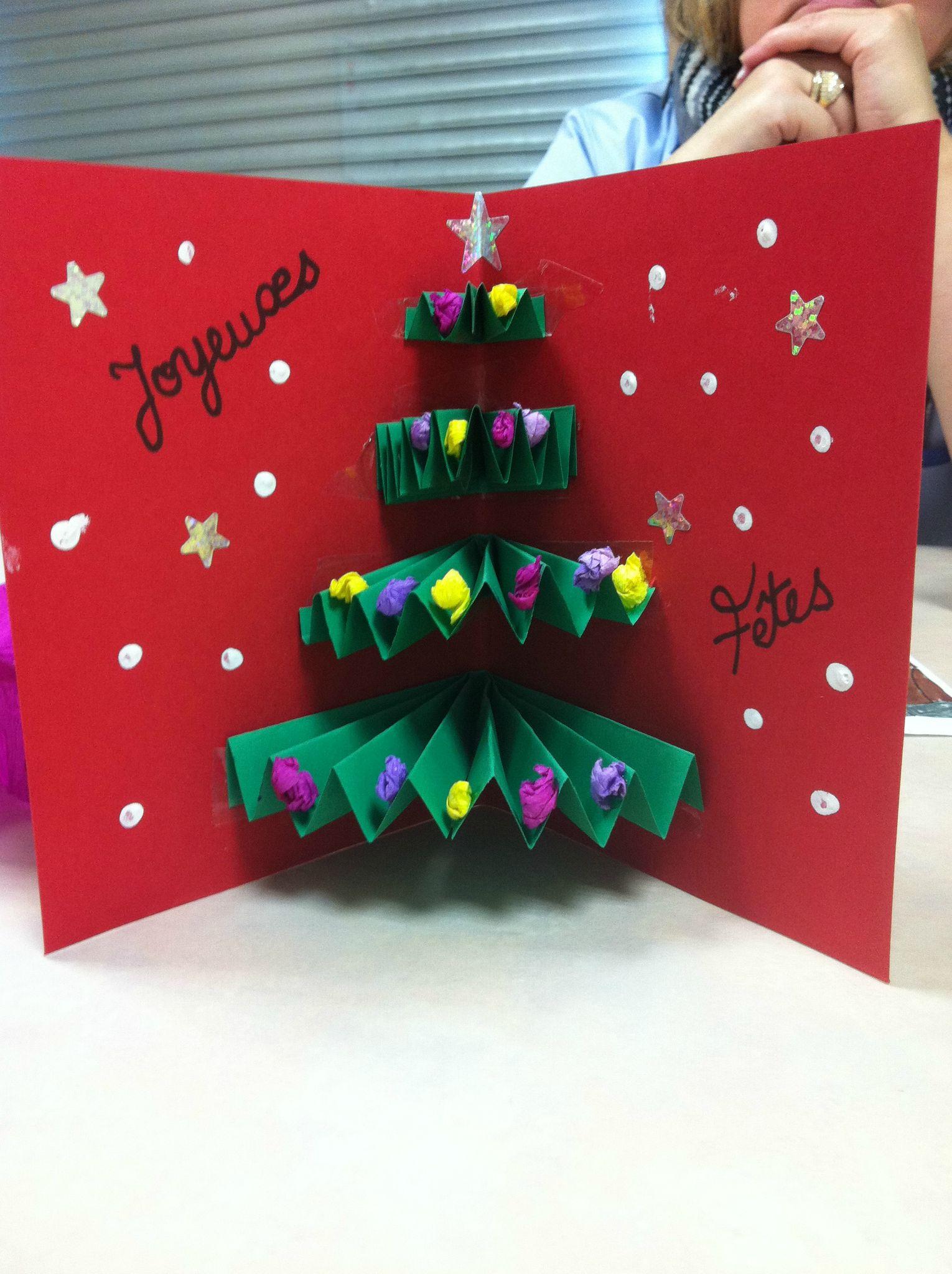 Les Cartes De Noel - Mon Scrap A Moi à Bricolage De Noel Pour Maternelle