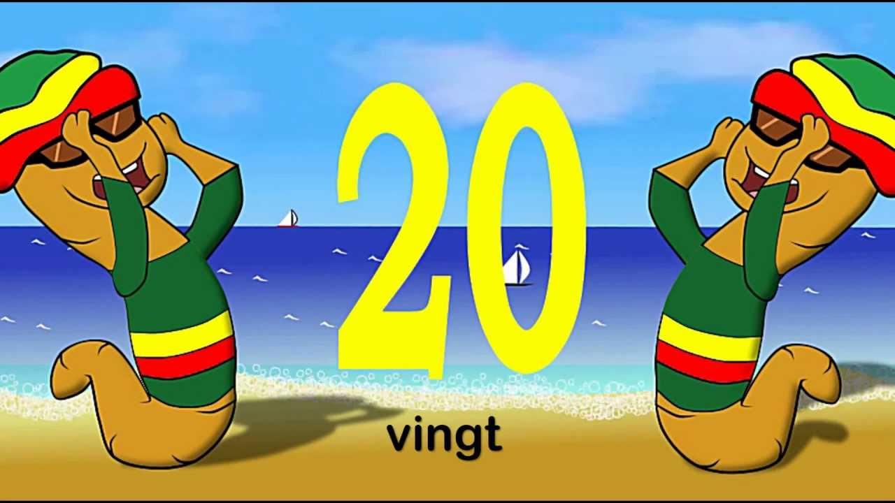 Les Chiffres Et Les Nombres De 1 A 20 - Alain Le Lait (French Numbers From  1 To 20) avec Chanson Des Chiffres En Français