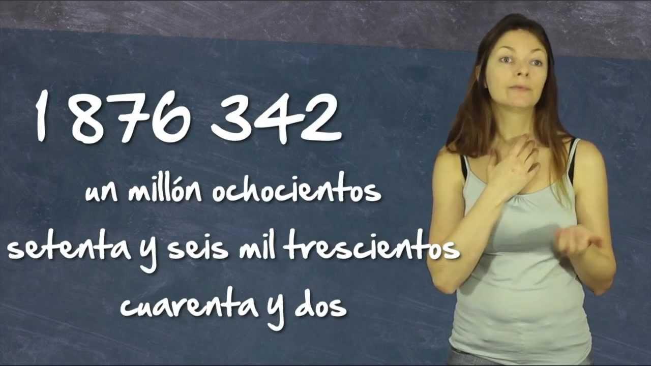 Les Chiffres Et Les Nombres En Espagnol intérieur Chiffres Espagnol 1 À 1000