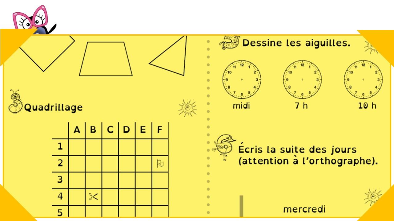 Les Étoiles De Géométrie Et Mesure Pour Les Ce1-Ce2 serapportantà Figures Géométriques Ce1