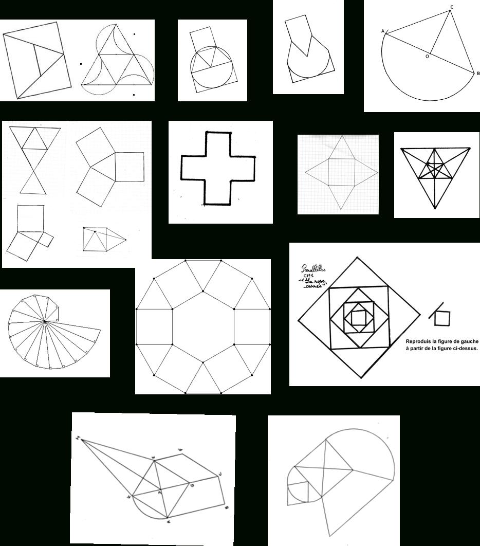 Les Figures Planes Régulières | Ressources Du Plan encequiconcerne Figures Géométriques Ce1
