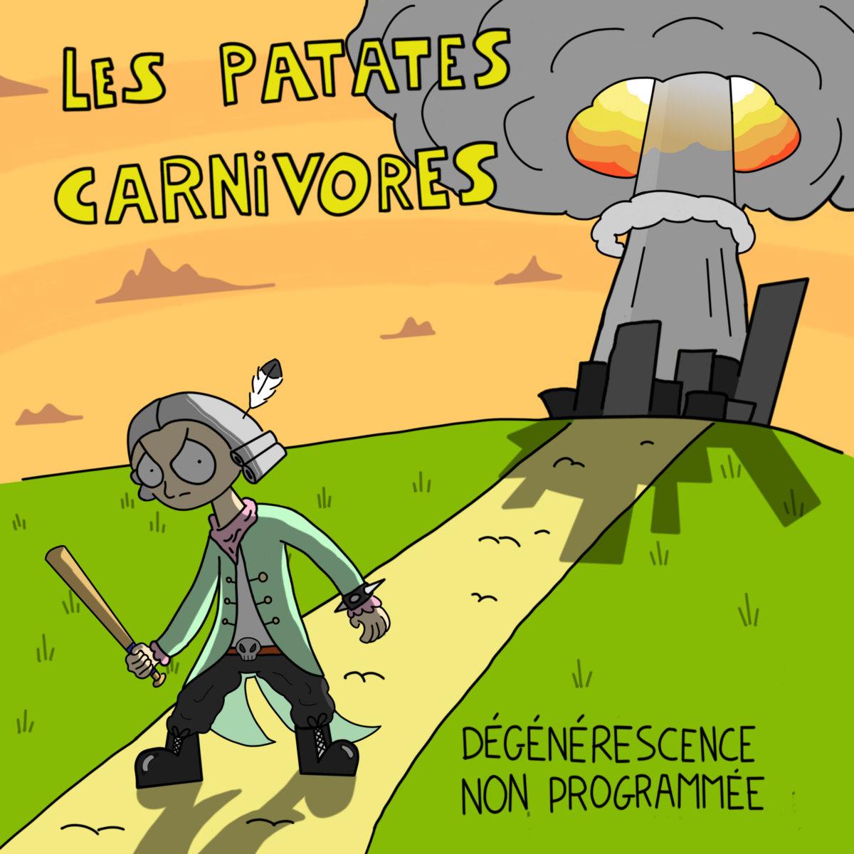 Les Gens Qui Font Du Rock'n Roll | Les Patates Carnivores pour Chanson De La Patate