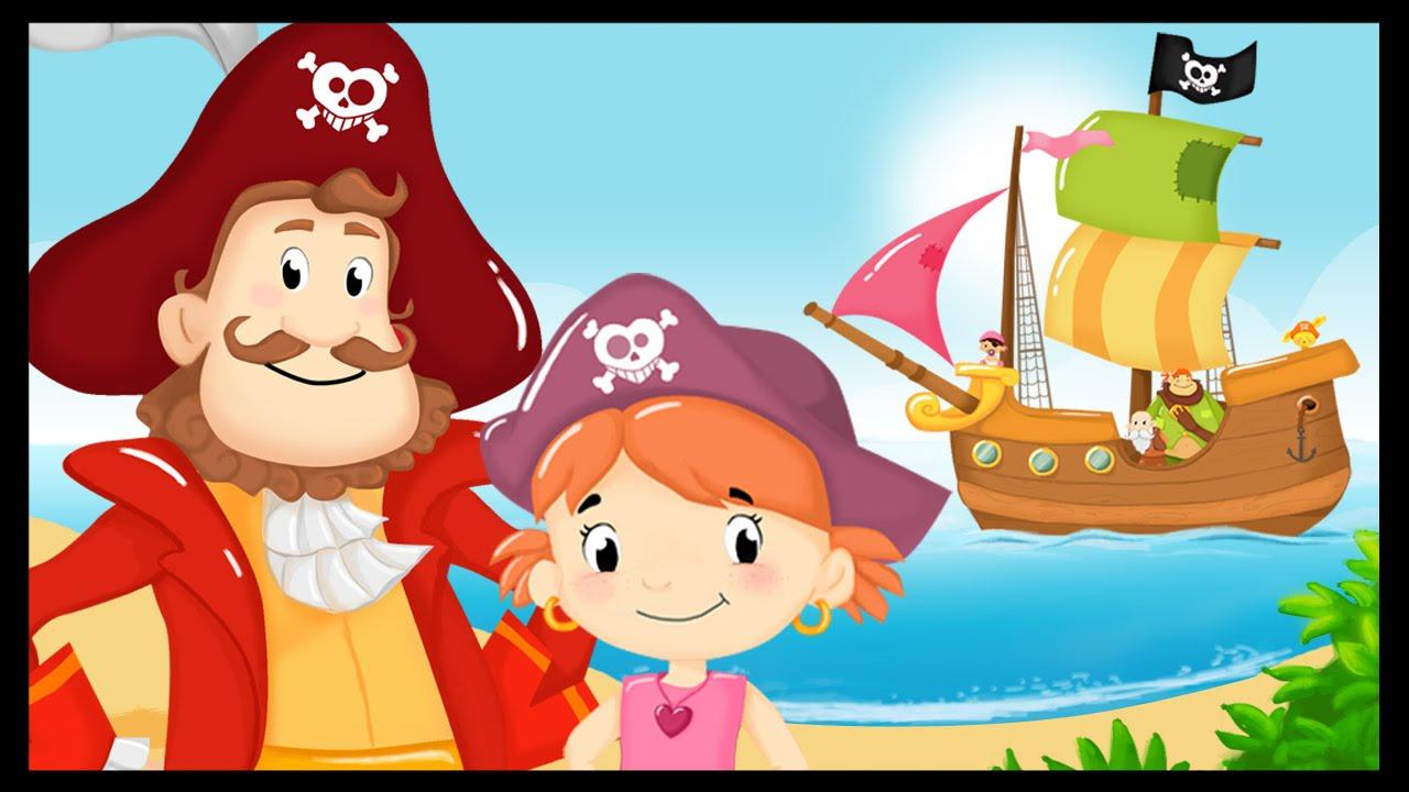 Les Gentils Pirates - Chanson Enfant - Monde Des Petits destiné Histoires De Pirates Gratuit