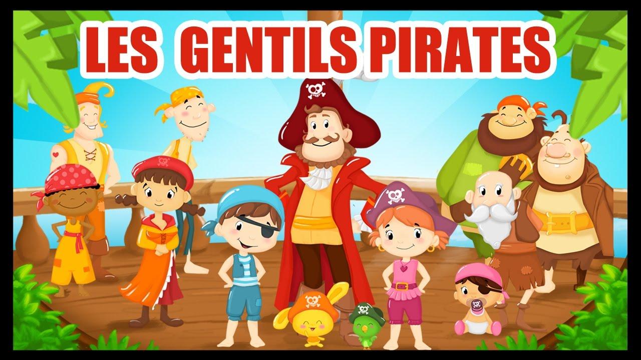 Les Gentils Pirates - Comptines Et Chansons Avec Les Pirates Pour Les  Enfants - Titounis pour Histoires De Pirates Gratuit