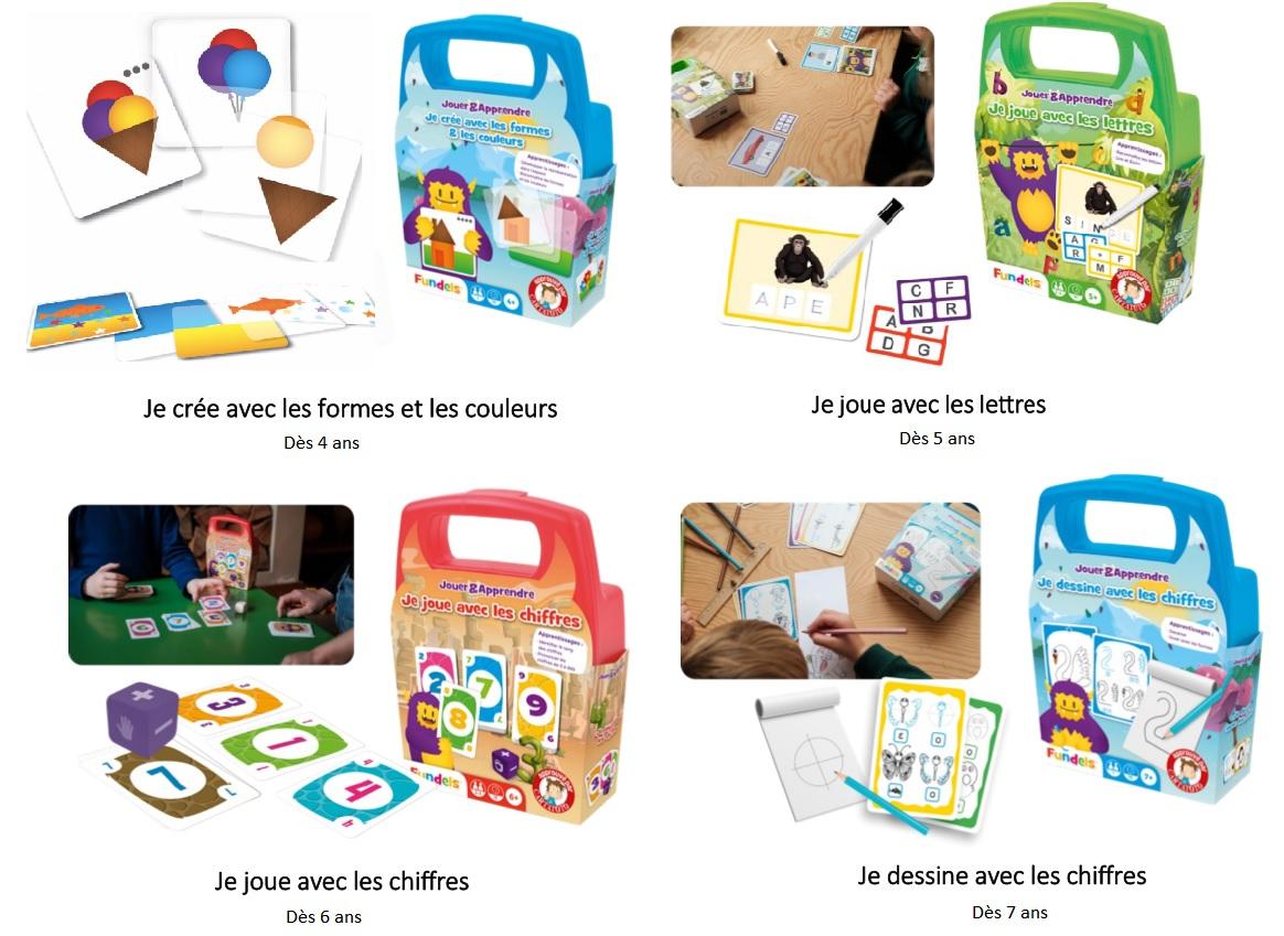 Les Jeux De Cartes Fundels: Comment Apprendre Et S'amuser En pour Jeux De Lettres Enfants