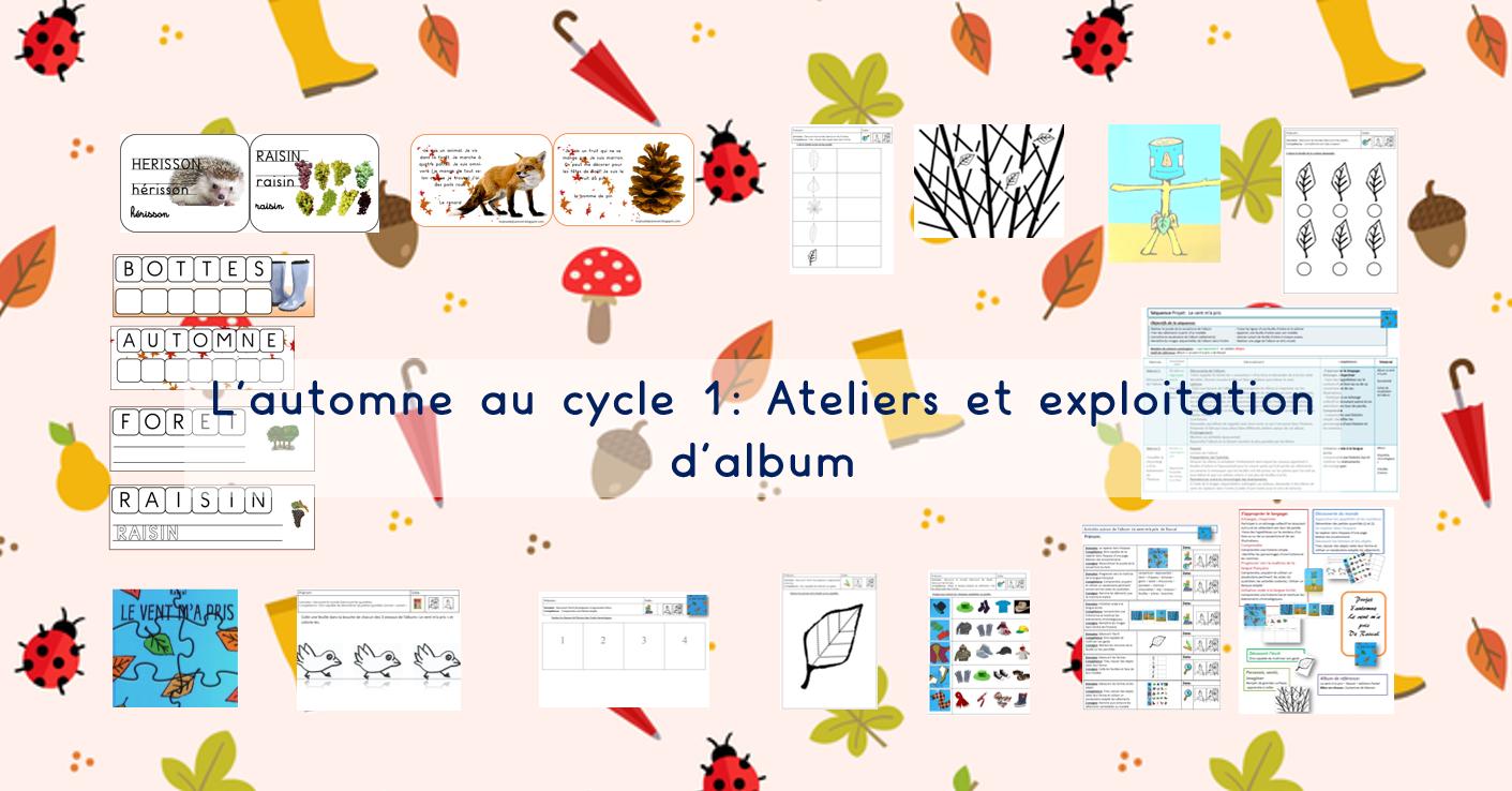 Les Jeux De Jean Noël : L'automne Au Cycle 1 : Ateliers intérieur Images Séquentielles Maternelle