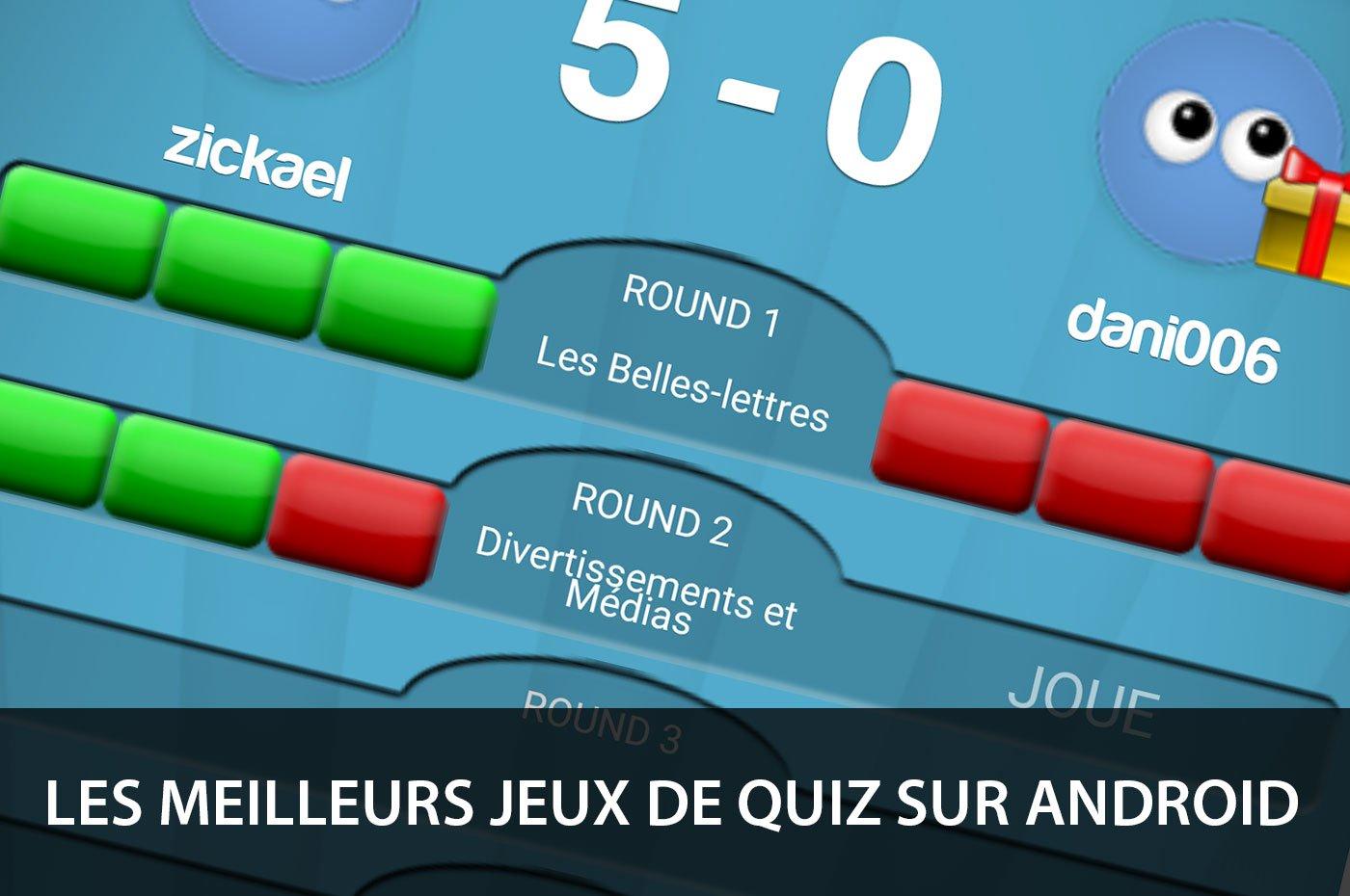 Les Meilleurs Jeux De Quiz Sur Smartphones Et Tablettes Android serapportantà Quiz Musical En Ligne