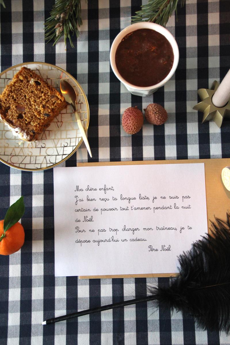Les Messages Du Père Noël En Cas De Livraison De Cadeaux avec Reponse Lettre Du Pere Noel A Imprimer