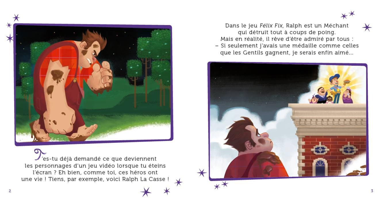 Les Mondes De Ralph - Mon Histoire Du Soir - L'histoire Du Film - Disney dedans Coloriage Ralph La Casse