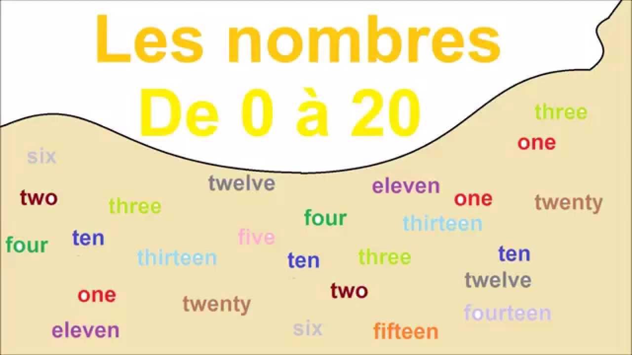Les Nombres De 0 À 20 avec Les Nombres De 0 À 20