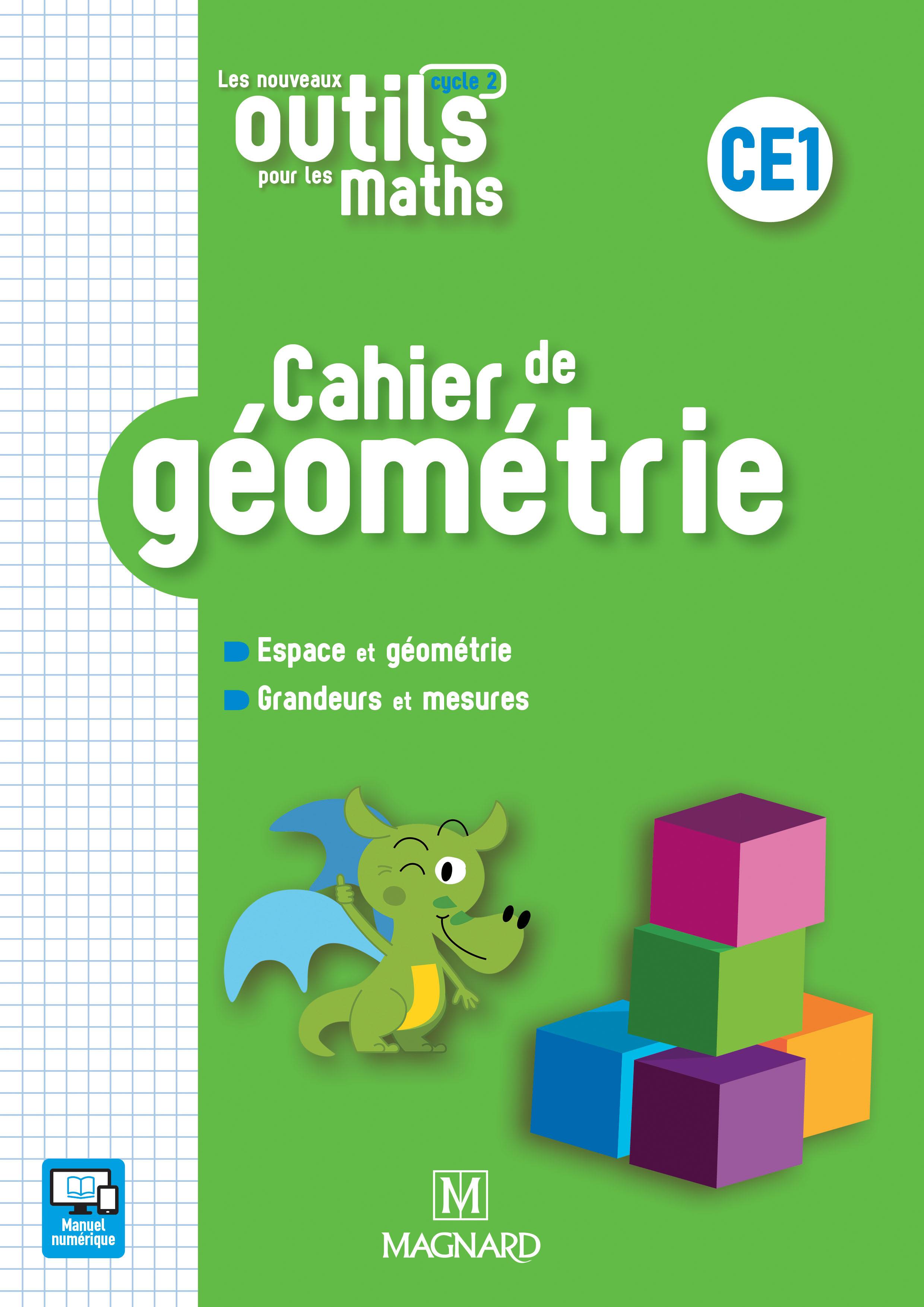 Les Nouveaux Outils Pour Les Maths Ce1 (2018) - Cahier De destiné Figures Géométriques Ce1
