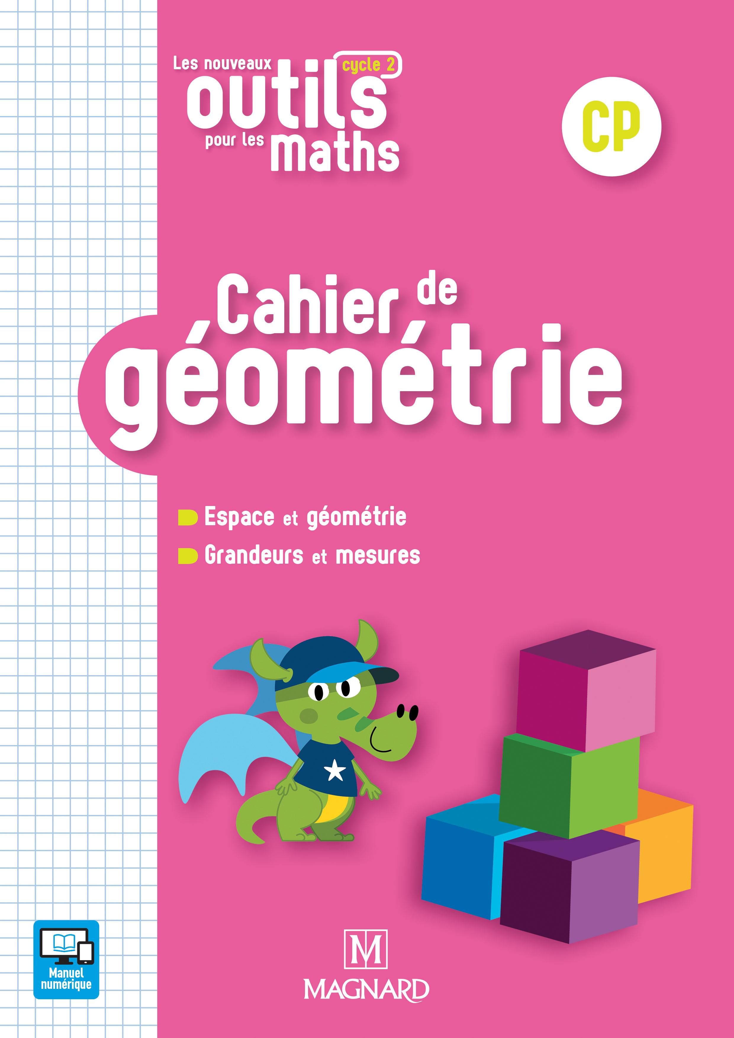 Les Nouveaux Outils Pour Les Maths Cp (2018) - Cahier De tout Fiche Géométrie Cp