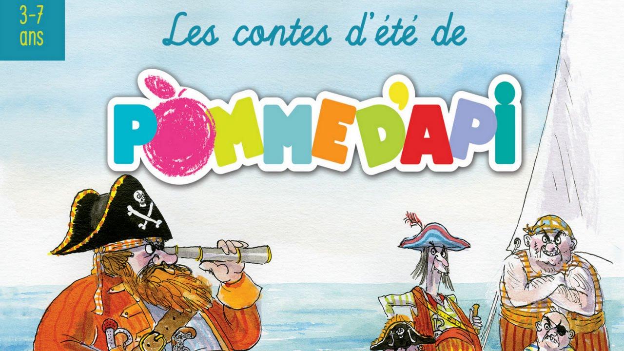 Les Pirates À La Plage - Contes D'été De Pomme D'api ( 3 À 7 Ans) tout Histoires De Pirates Gratuit