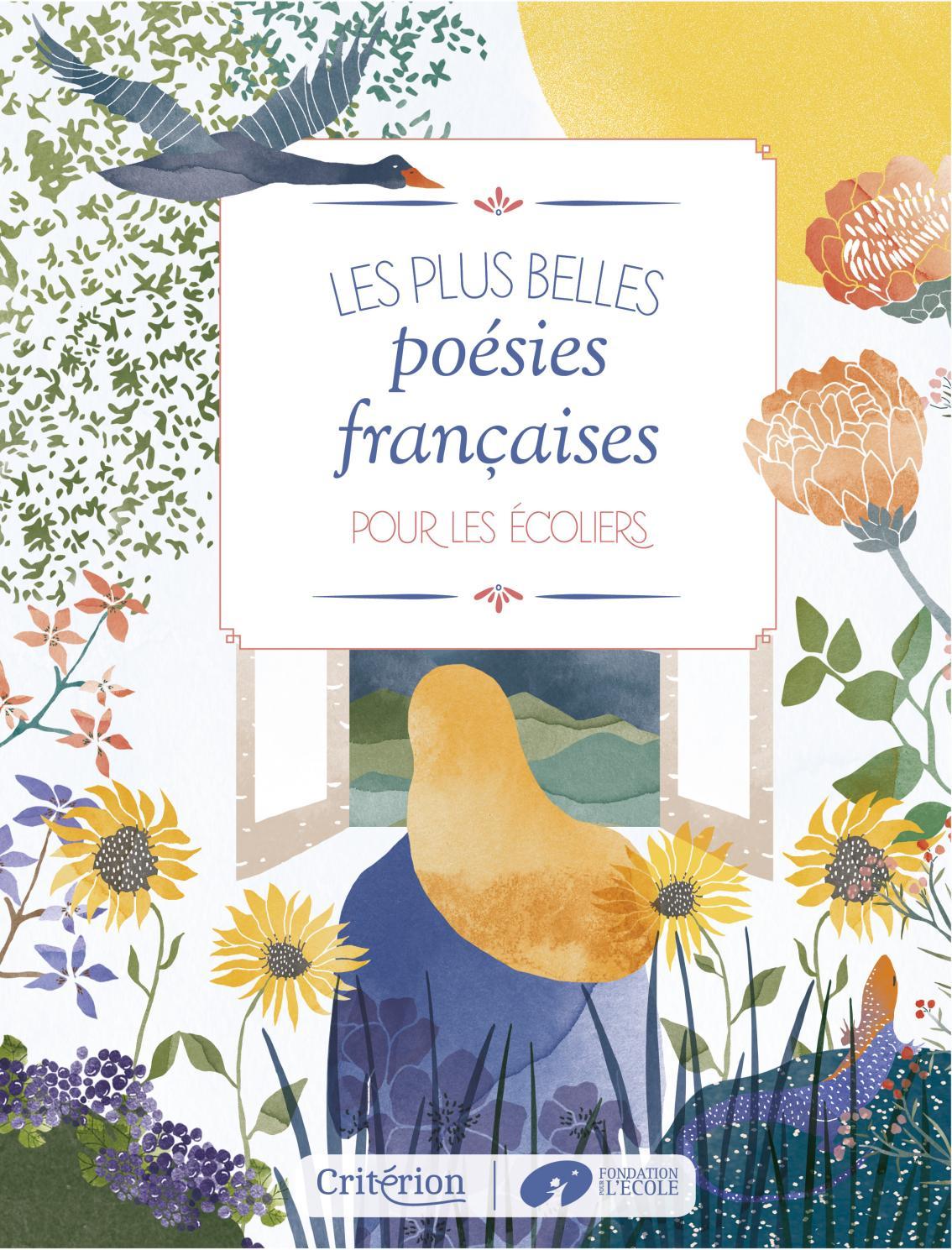 Les Plus Belles Poésies Françaises Pour Les Écoliers By serapportantà Mars De Maurice Careme A Imprimer