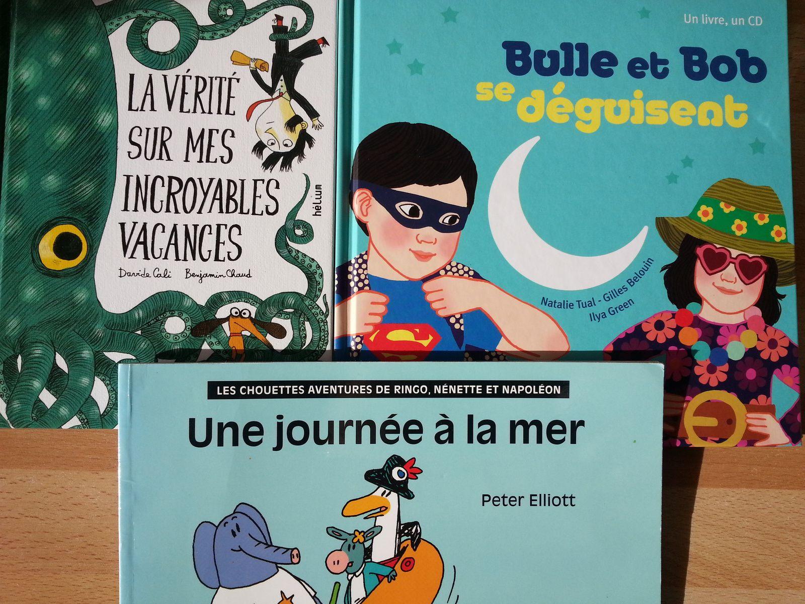 Les Vacances Sont Finies. Vive Les Vacances! 3 Albums Dès 3 destiné Poésie Vive Les Vacances