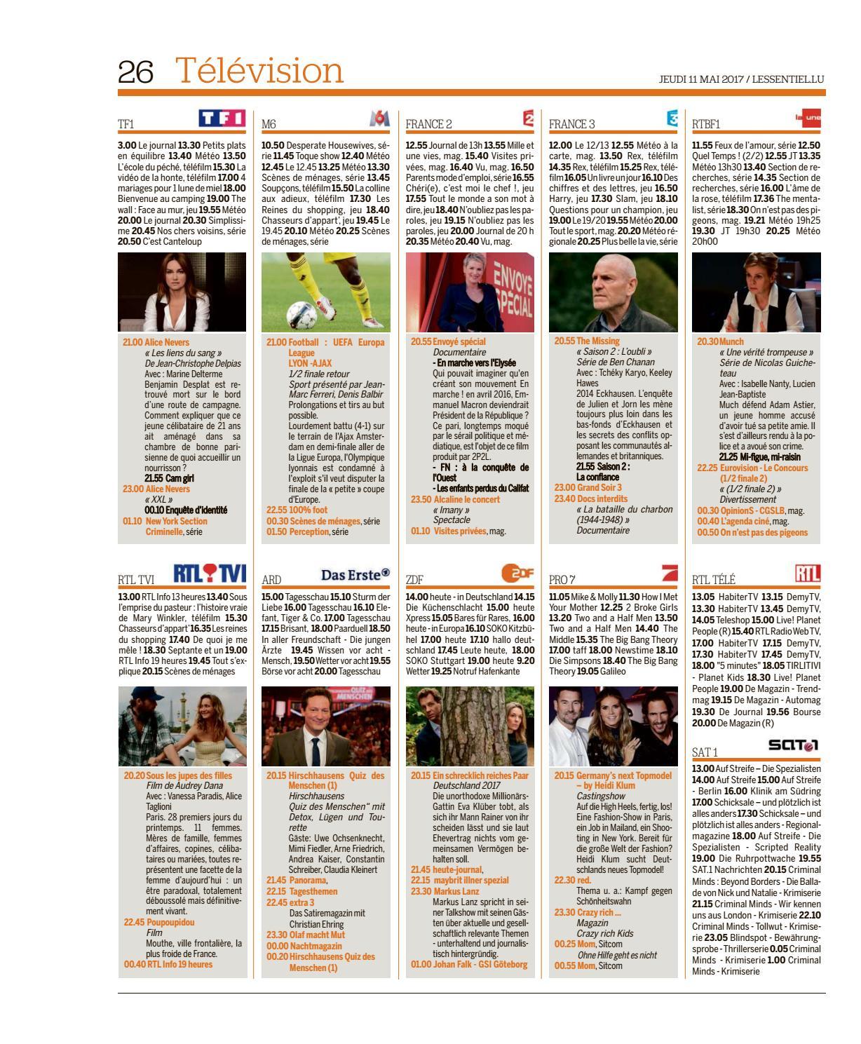 L'essentiel Epaper 2017-05-11 By L'essentiel - Issuu encequiconcerne Ce Soir On Joue En Famille 3