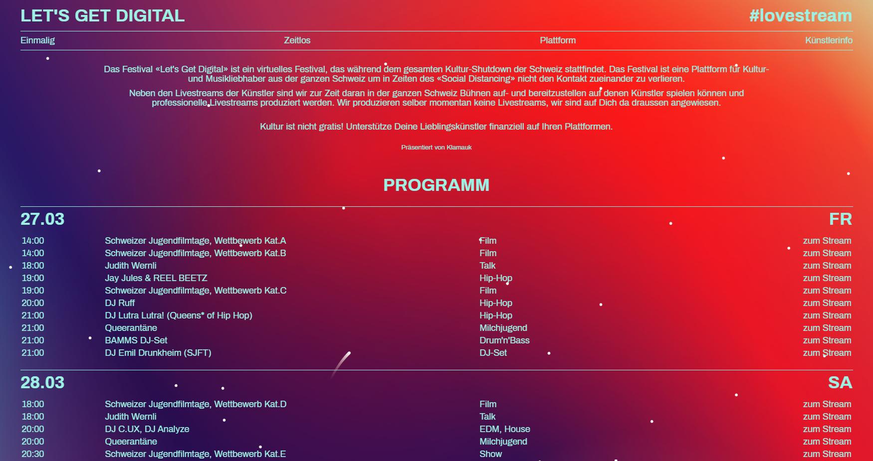 Let's Get Digital - Magazin - The Swiss Music Platform destiné Quiz Musical En Ligne