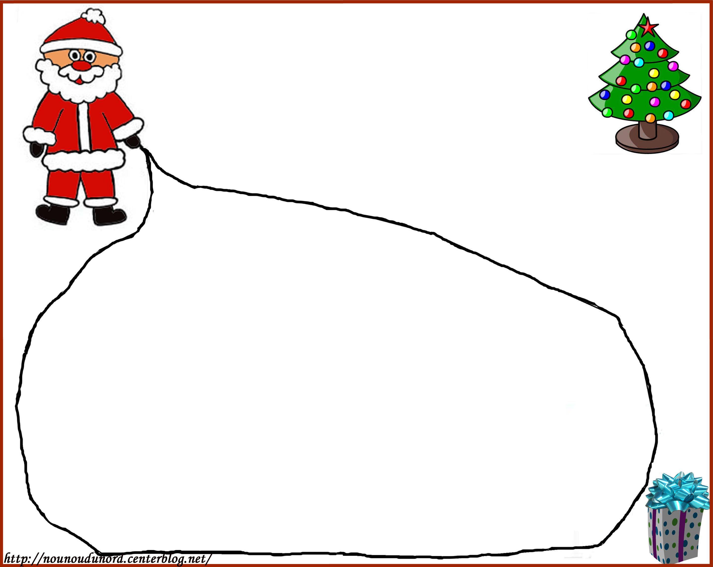 Lettre Au Père Noël À Imprimer destiné Liste Pere Noel Imprimer