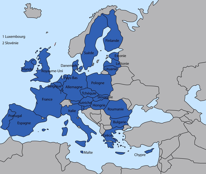 L'europe Expliquée Aux Enfants à Carte Europe Avec Capitales