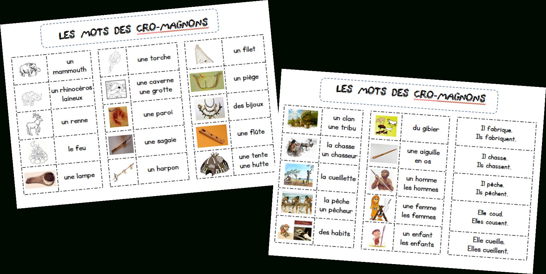 Lexique Sur La Préhistoire | Préhistoire, Histoire Ce2, Lexique encequiconcerne Frise Chronologique Vierge Ce1