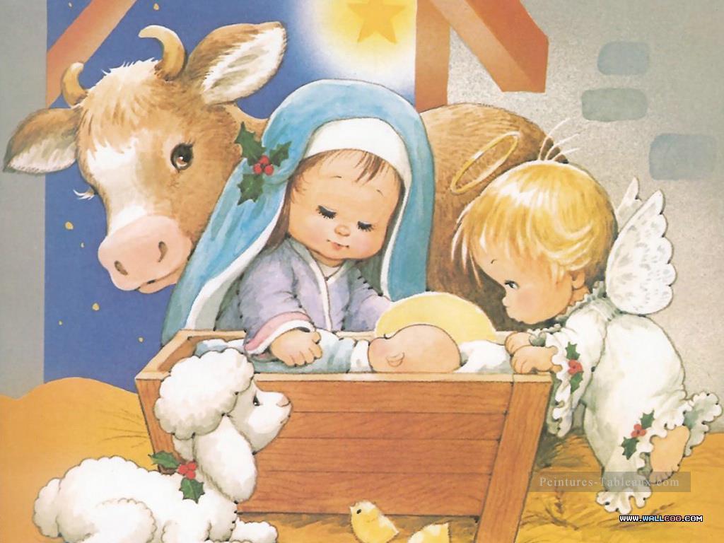 L'histoire De Noël Dessin Animé Pour Enfants Peinture tout Dessin Sur L Histoire