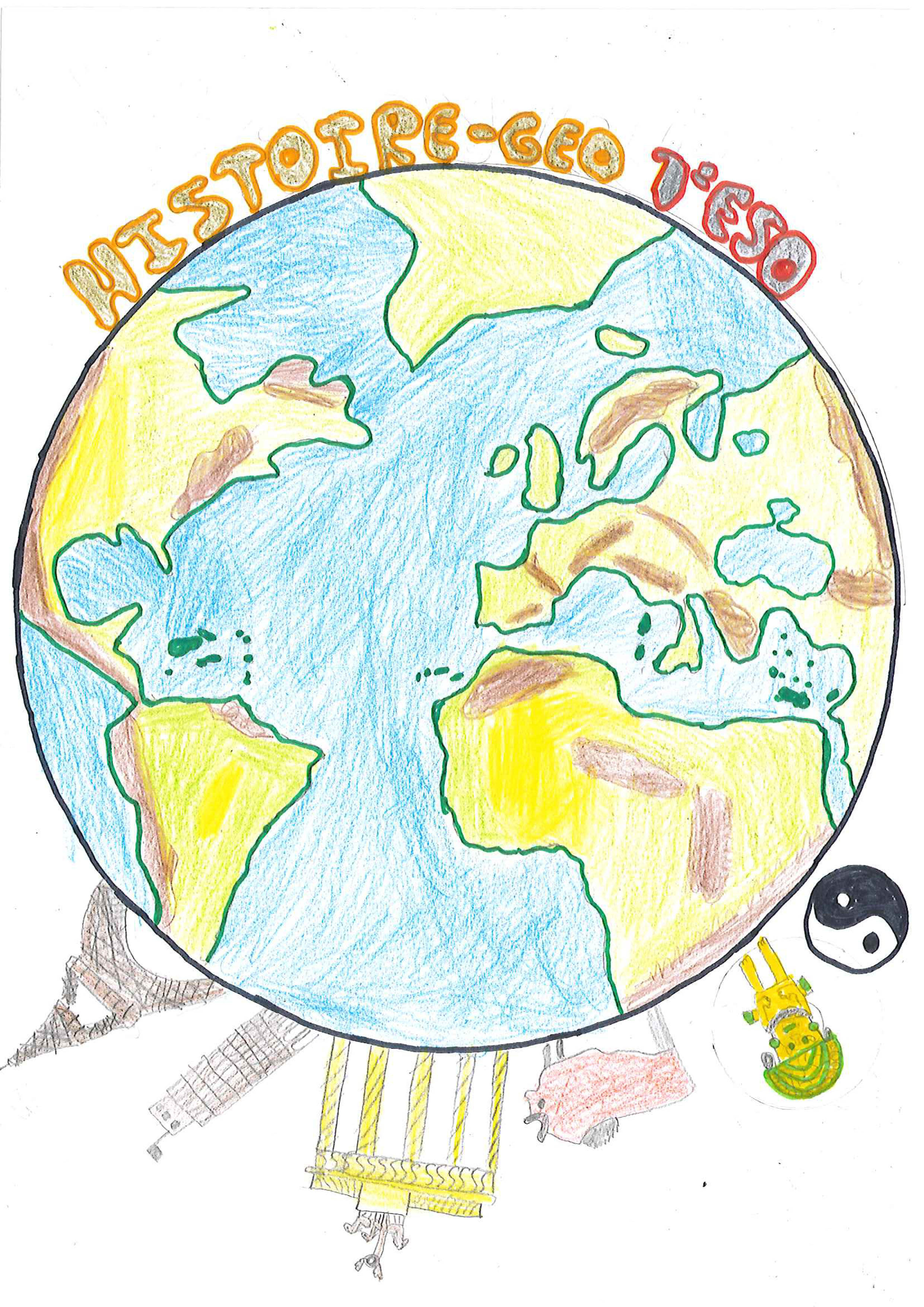 L'histoire-Géographie D'après L'un De Nos Groupes | Le Blog intérieur Dessin Sur L Histoire