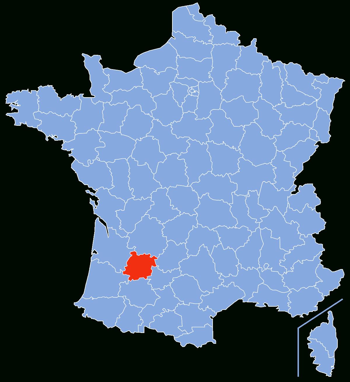 Liste Des Communes De Lot-Et-Garonne — Wikipédia intérieur Carte Numero Departement