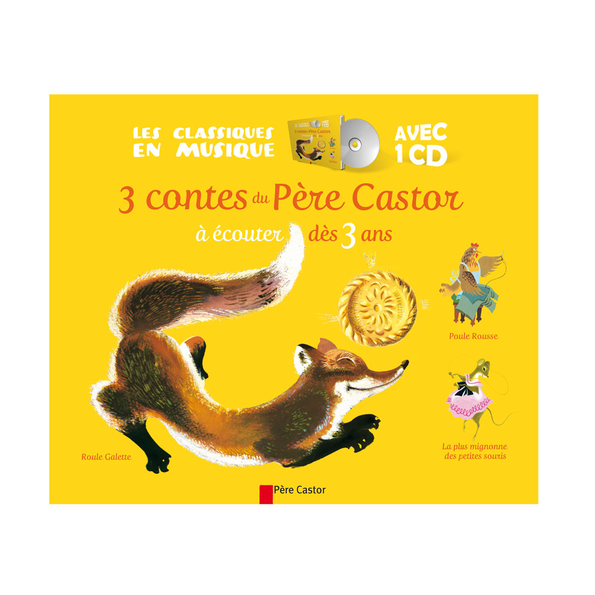 Livre-Cd Roule Galette Et 2 Autres Contes serapportantà Histoire Roule Galette