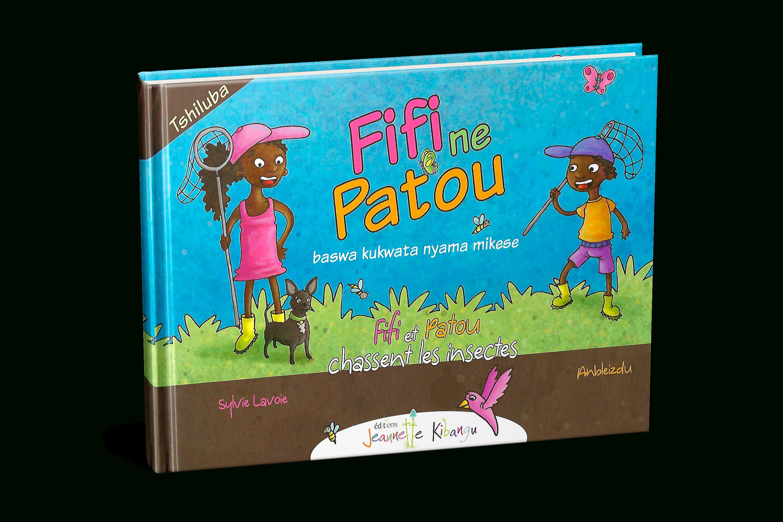 Livre + Jeu Fifi Et Patou Chassent Les Insectes - Tshiluba avec Les Noms Des Insectes