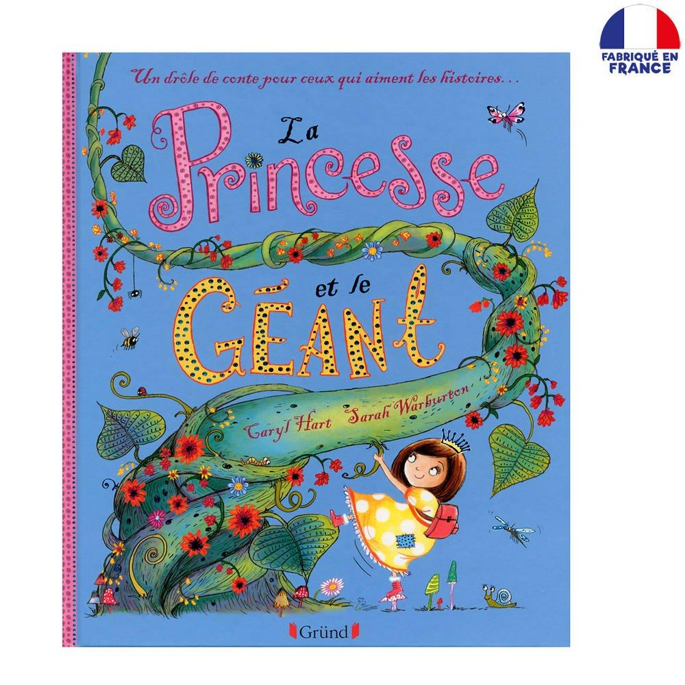 Livre Princesse Et Le Géant 4-7 Ans |  Jeux Educatifs Group Jeux Educatif 4 Ans