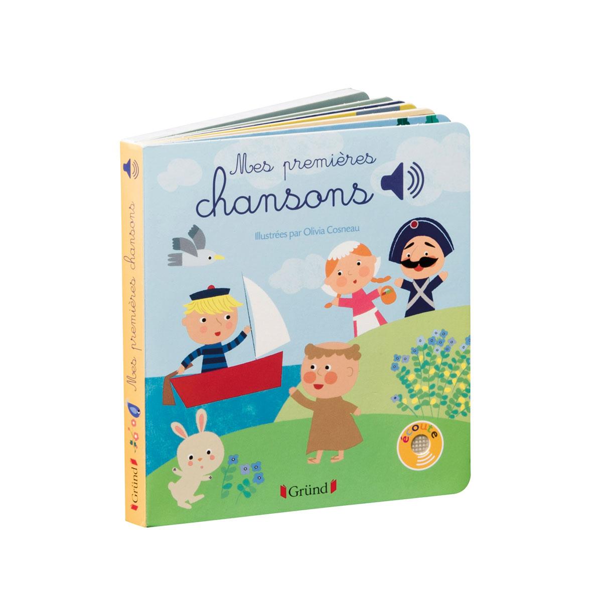 Livre Sonore Mes Premières Chansons destiné Chanson Enfant Lapin